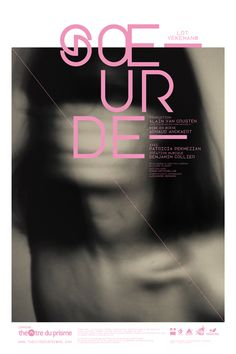 Maybe it's Great / Graphic Design Inspiration, Sœur de, 2012 by Les produits de l'épicerie from...