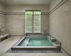 Banheira em concreto