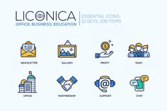 Super Bundle of Essential Icons by Decorwith.me Shop on @creativemarket