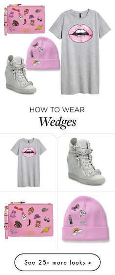 """""""Untitled #258"""" by ganeky on Polyvore featuring Moschino, Giuseppe Zanotti and Miss Selfridge"""