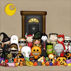 Tricks & Treats Tricksters by HarperFinchDesigns on Etsy, $6.95