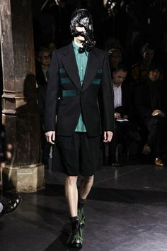 Comme des Garcons Homme Plus Menswear Fall Winter 2014 Paris - NOWFASHION