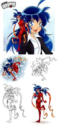 Miraculous Ladybug Sketches By Keah.deviantart.com On @DeviantArt