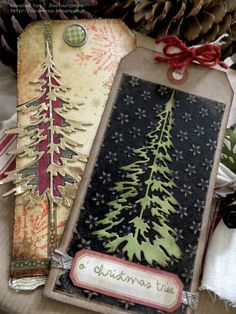 yaya scrap & more: O'CHRISTMAS TREE; Oct 2015 #timholtz #ranger…