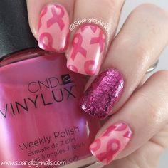 "Spangley Nails | UK Nail Art Blog: Meebox ""Lucky Dip Pink"" October 2015 Review"
