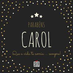 Parabéns Carol!