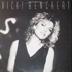 Vicki Benckert, swedish pop singer, 1986