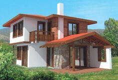 Проект на къща в с. Просеник - РЗП 100 кв.м