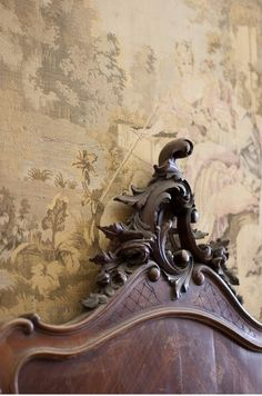 Detail in Cream, Camel & Chocolate ~ Ana Rosa French Farmhouse, French Country, French Style, Wood Detail, France, Old World, Decoration, Storyboard, Shabby Chic