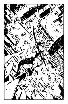 Hawkeye. David Aja