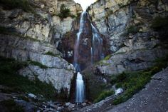 Stewart Falls. This is a great hike for little ones, and is not too far up Provo Canyon.