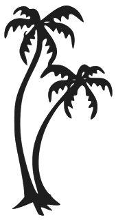 palmtree tattoo