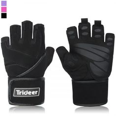 Padded Anti Slip Weight Lifting Gloves Gym Gloves with 18 Wrist Wraps Support for Weightlifting Cross Training Gym Workout Fitness Bodybuilding Silica Gel Grip Breathable Microfiber ** Continue to the product at the image link. Workout Gear, Workout Gloves, Gym Workouts, Workout Fitness, Best Weight Lifting Gloves, Heavy Weight Lifting, Body Fitness, Fitness Gear, Fitness Diet
