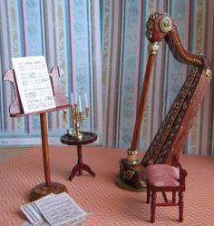 How to: Miniature harp. alleen even de vertaling aanzetten