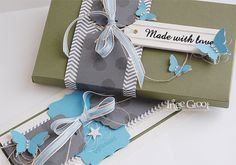 Stampin' Cards and Memories: Tutorial EPB box with matching card