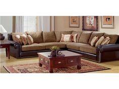 Robert Michaels Living Room Sectional Classic SECT   Evans Furniture  Galleries   Redding, Chico U0026 Yuba City, CA