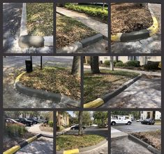 Concrete Curbing, Facility Management, Curb Appeal, Firewood, Sidewalks, Pictures, Building, Photos, Road Pavement