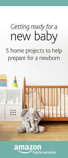 Becoming a new parent or having another baby is a wonderful gift, but can be a stressful time. Let an Amazon Home Services pro handle the essential preparatory tasks. Whether it's crib assembly, painting services, deep cleaning, baby-proofing or all the above. Amazon is here to help you prepare so you have more time and energy to focus on the things that matter most.