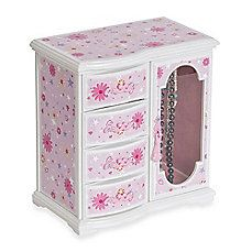 image of Mele & Co. Hyacinth Musical Ballerina Jewelry Box