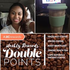 Weekly Double Rewards Coffee Coffee Coffee ::: Come visit http://ift.tt/1IeUHGb  #candles #ecofriendly #healthy #lush #sale #nvusddjic #jewelry #homedecor #interiordesign #spa #relax #yogi #sahm #bosslife #fruit #spring #summer #august #summer16 #coffee #coffeeholic
