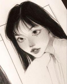 Art Drawings Sketches Simple, Pencil Art Drawings, Cool Drawings, Pretty Art, Cute Art, Arte Indie, Arte Sketchbook, Funky Art, Cartoon Art Styles