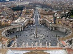 Restauro colonnato vaticano - Roma - Arte.it