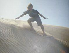 Arenas Verdes te ofrece muy buenas dunas y medanos para vivir el sandboard...trae tu tabla o solicitala allí.