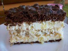 Pijany rodzynkowiec Krispie Treats, Rice Krispies, Polish Recipes, Cake Cookies, Vanilla Cake, Apple, Ethnic Recipes, Sweet, Food