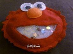 Elmo I Spy Bag