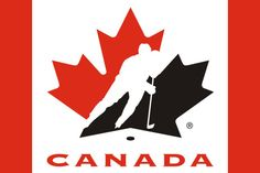 Team Canada Hockey poly Flag - Flag Outlet Ltd. Canada Logo, O Canada, Hockey Logos, Hockey Teams, Sports Logos, Minimal Logo Design, Modern Logo Design, Coach Canada, Canada Hockey