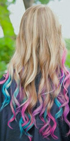 Multicolored hai