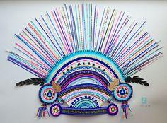 Merci Perci by Claire Falkiner Crown Art, Greenhouse Interiors, Boutique Design, Illustration Art, Textiles, Colours, Art Prints, Claire, Pictures