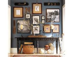 Benjamin Moore: Newburyport Blue HC-155 #dark_blue...I have loved this color since the first moment that I saw it.
