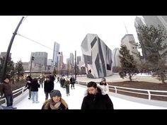 Maggie Daley Park Ice Skating Ribbon - YouTube