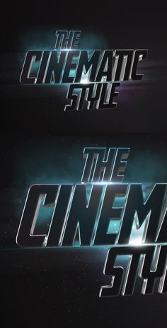 Create a stunning effect for your logos or text and give them a new dimension with this Photoshop cinematic text...