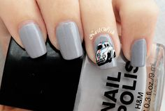 Herbie The Love Bug Nails
