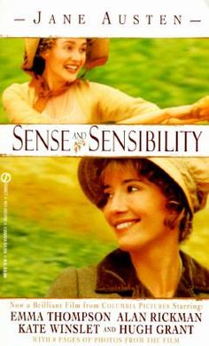 Jane Austen, such a beautiful writer.  Love this story and this version was wonderful at the movies.