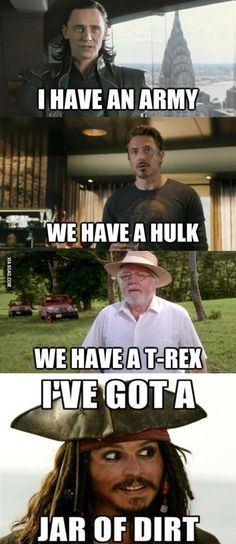 I've got a jar of dirt — Steemit - - You are in the right place about mom vs Dad Humor Here we offer you the most beautiful pictures about the Dad Humor funny yo Humour Disney, Disney Jokes, Funny Disney Memes, Funny Marvel Memes, Marvel Jokes, Dc Memes, Crazy Funny Memes, Really Funny Memes, Stupid Memes