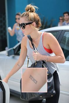 A Guide To Miley Cyrus' Ever Growing Tattoo Collection And What They All Mean! 21 Years Old, Miley Cyrus, Tattoos, Collection, Fashion, Moda, Fashion Styles, Irezumi, Tattoo