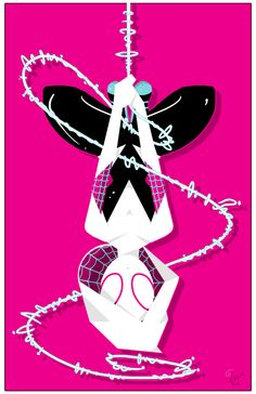 #Spider #Gwen #Fan #Art. (Spider Gwen) By: Daguu. (SUPER ÅWESOMENESS!!!™) (THE * 5 * STAR * AWARD * OF * ÅWESOMENESS!!!™)