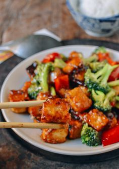 General Tso's Tofu Recipe, by thewoksoflife.com