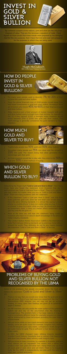 How to buy and invest in gold and silver bullion - Secure Gold Investment http://www.elementum-deutschland.de/