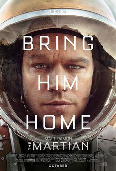 "Ridley Scott. ""Marte"". EEUU, 2015. Encuentra esta película en la Mediateca: DVD-Scott-MAR"
