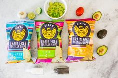 Siete Grain Free Tortilla Chips on Packaging of the World - Creative Package Design Gallery