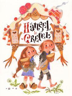 Hansel & Gretel by Annette Marnat