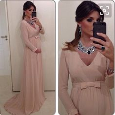 long dress long sleeve
