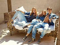 Frida Gustavsson и Magdalena Frackowiak для Mavi Jeans