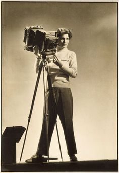 Margaret Bourke-White … Self-portrait with Camera … c. 1933 … Margaret Bourke-White (June American, photographer, first female staffer at Life Magazine, first Western photographer accredited to enter the Soviet Union …