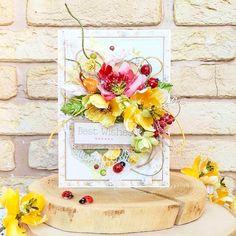 1,263 отметок «Нравится», 12 комментариев — Prima Marketing Inc. (@primamarketinginc) в Instagram: «#Repost @vasilyeva.olga #scrapbooking #card #cardmaking #primamarketing #primaflowers»