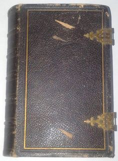 The Holy Bible (1863) Oxford University Press Antique Civil War Era Pocket Bible by OtterCreekAntiques, $129.95